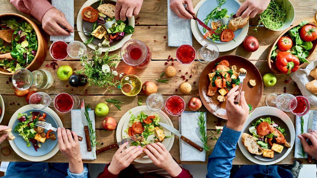 سفر به عشق غذا