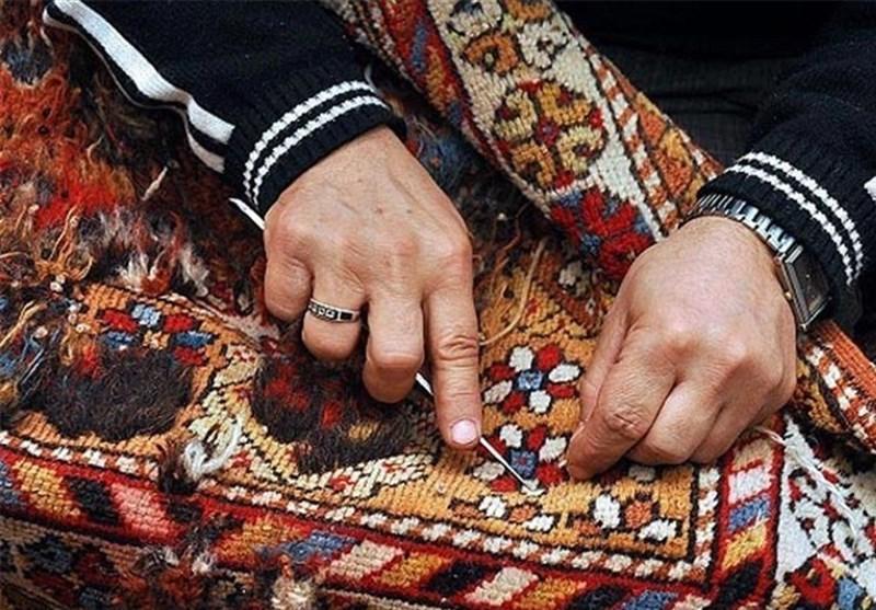بافت فرش دستباف ایرانی
