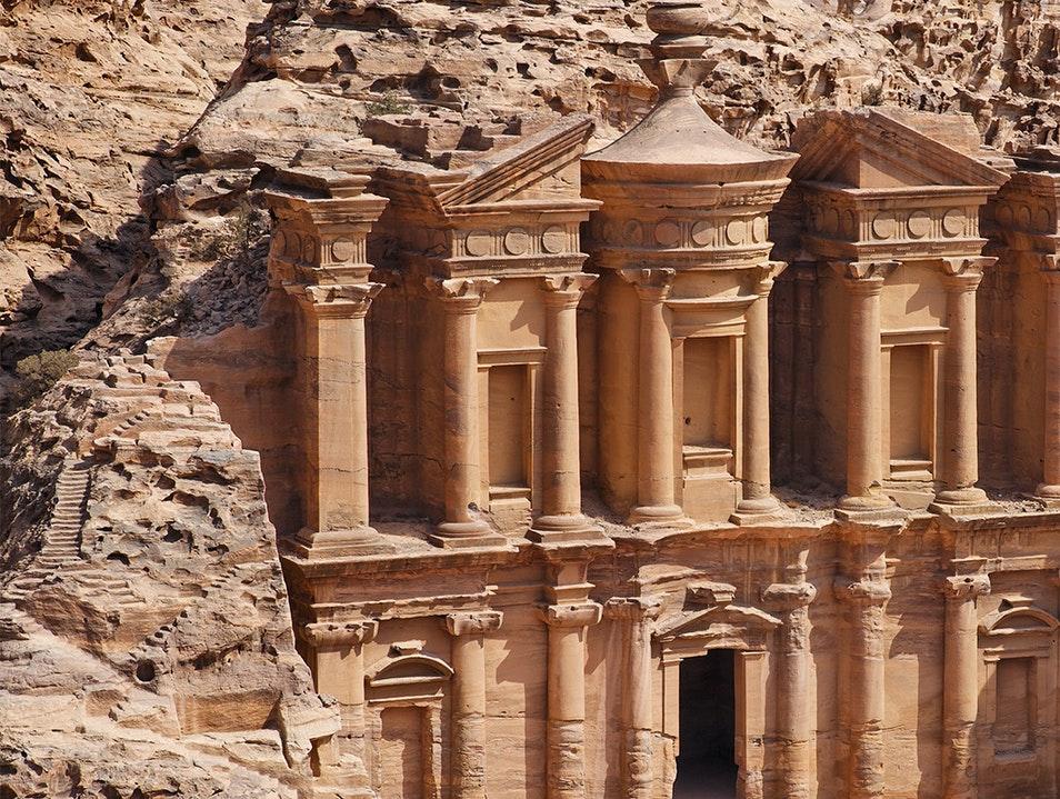 معبد تاریخی در پترا