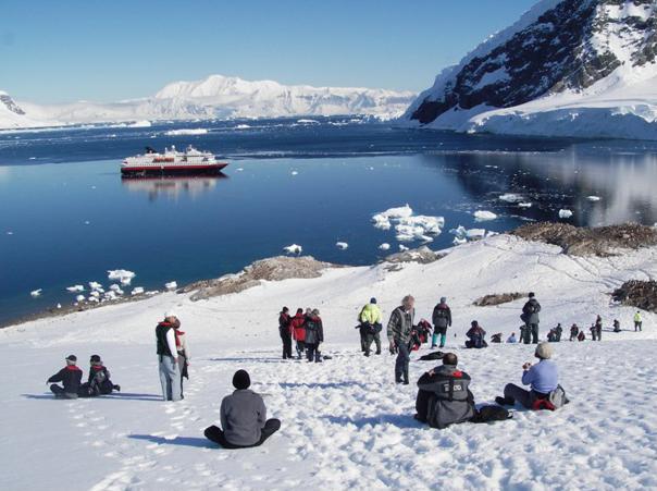 مسافران قطب جنوب