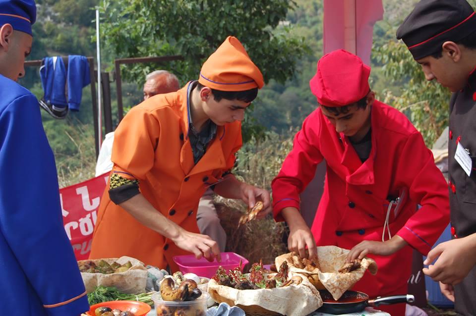 جشنواره غذای ارمنستان