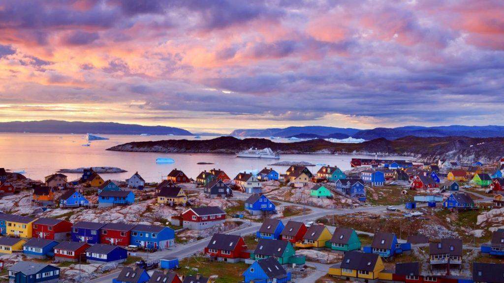 شهر کاکورتوک در گرینلند