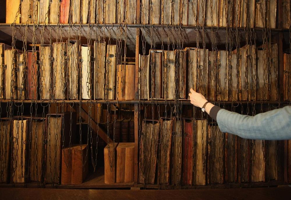 کتابخانه های قرون وسطی