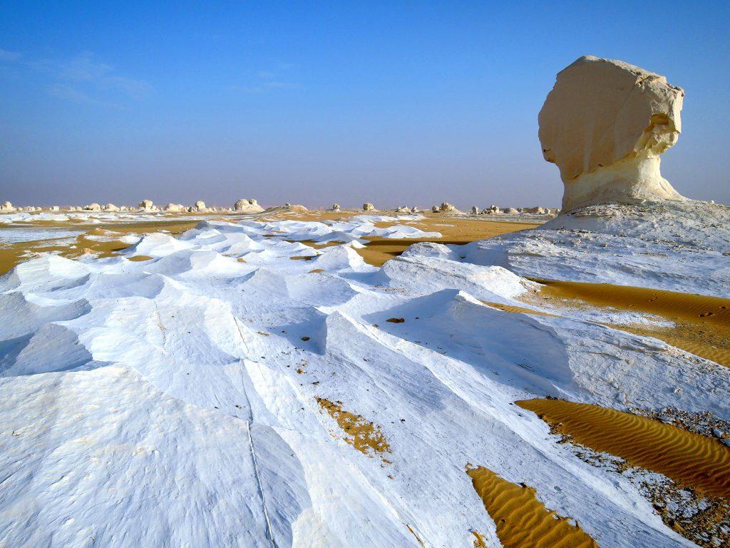 کویر سفید در فرافره مصر