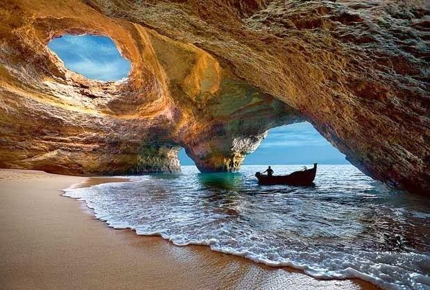 غار دریایی در پرتغال