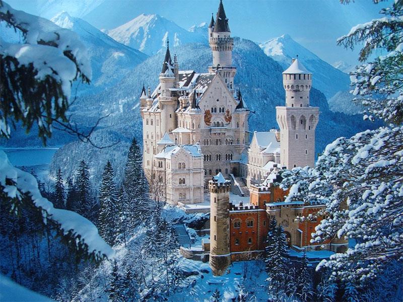 Neuschwanstein, Bavaria - با شکوه ترین کاخ های معروف جهان