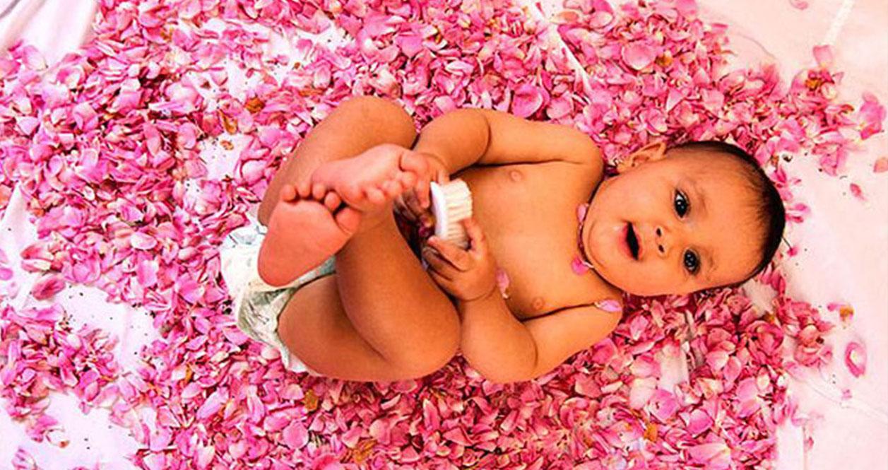گل غلتان-آیین گل غلتان-گل غلتان نوزادان دامغان