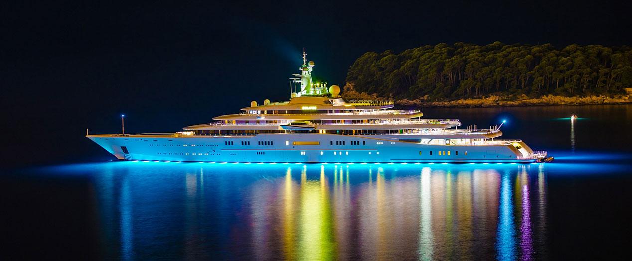 گردشگری جهان - سفرهای لوکس - کشتی های تفریحی لوکس -  گرانترین کشتیهای تفریحی دنیا