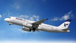 گردشگری ایران - شرکت های هواپیمایی - انواع هواپیماهای مسافربری ایران ایر