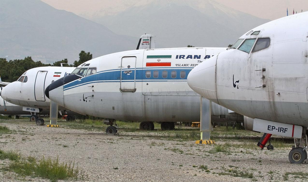 گردشگری ایران - شرکت های هواپیمایی - جمع آوری هواپیماهای زمین گیر غیرعملیاتی از فرودگاه های کشور