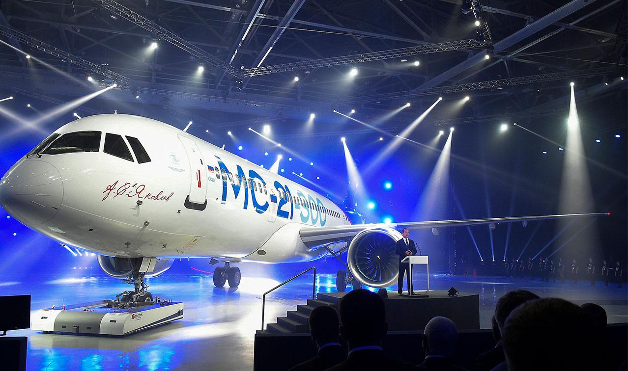 هواپیما- شرکت های هواپیمایی- هواپیمای مسافربری جدید روسیه - شرکت هواپیمایی ایرکوت روسیه -  هواپیمای MC-21- شهر ایرکوتسک روسیه