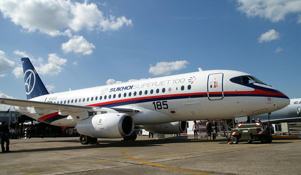 هواپیمایی ایران - هواپیمایی روسیه - هواپیماهای سوخو سوپرجت 100 - وزیر صنعت روسیه