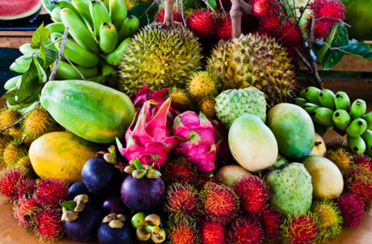 گزدشگزی جهان - گردشگری آسیا - میوه های آسیا - آسیای جنوب شرقی - میوه های عجیب و غریب آسیای جنوب شرقی