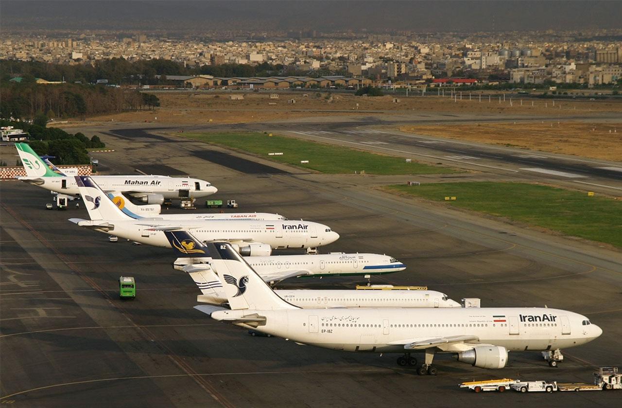 شرکت های هواپیمای ایران - فرودگاه مهرآباد - هواپیماهای غیر استاندارد - آلودگی هوای تهران - عبدالرضا عزیزی - عضو کمیسیون اجتماعی مجلس