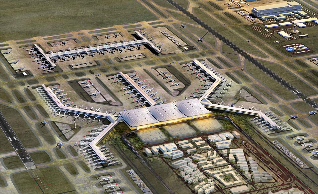 گردشگری استانبول - بزرگ ترین فرودگاه دنیا - 2018 - ترکیه - افتتاح بزرگ ترین فرودگاه دنیا در استانبول