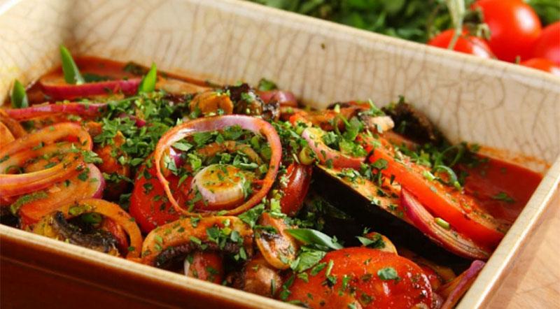 Ajapsandali -بهترین غذاهای گرجی