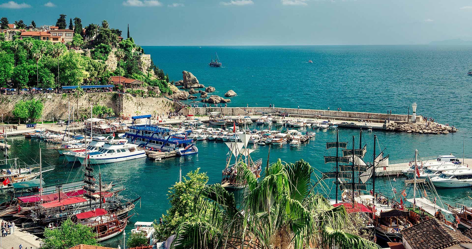 گردشگری ترکیه آنتالیا