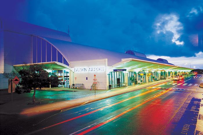 فرودگاه بین المللی داروین، استرالیا