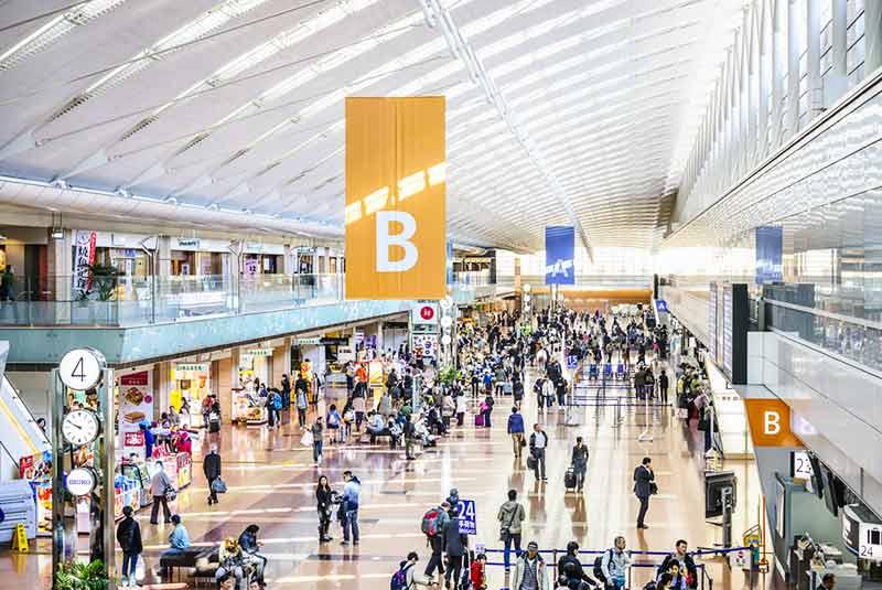 فرودگاه هاندا در توکیو، ژاپن