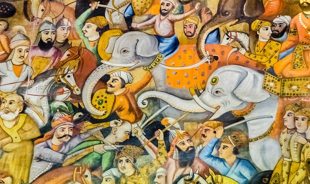 جنگ نادرشاه در کرنال هند.