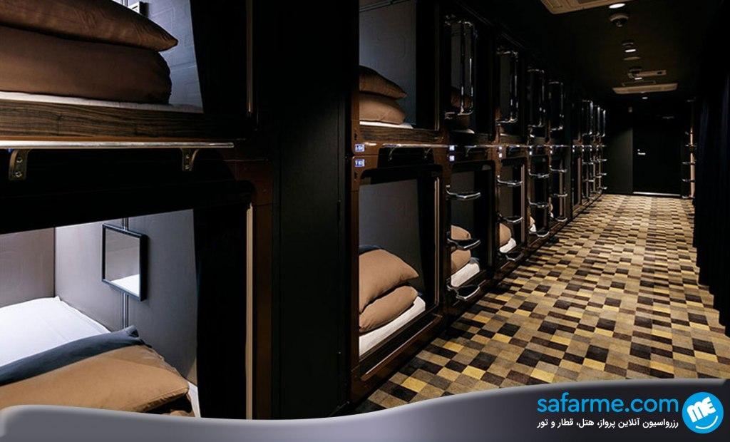 جالب ترین هتل های کپسولی دنیا