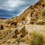 شهرهای غاری گرجستان بیانگر میراث فرهنگی غنی