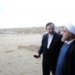 افتتاح مجتمع بندری کاسپین و آغاز ساخت بزرگترین آکواریوم ایران
