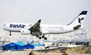 هواپیمای جدید ایرباس 330 ایران ایر