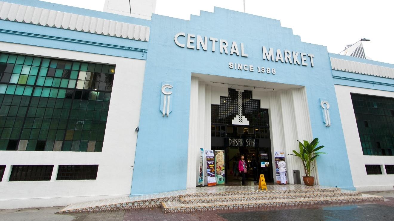 بازار مرکزی کوالالامپور؛ میراثی فرهنگی