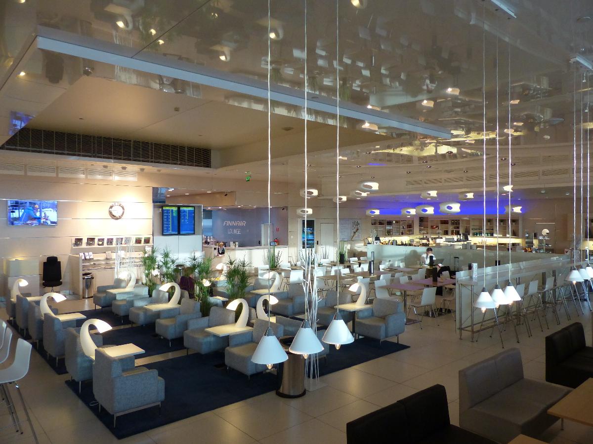 سالن انتظار هواپیمایی فنلاند از لوکس ترین سالنهای انتظار فرودگاههای جهان