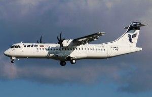 صدور گواهینامه ی ثبت و مجوز پرواز هواپیماهای ATR