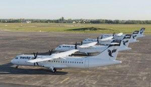 آغاز اولین پرواز هواپیمای ATR