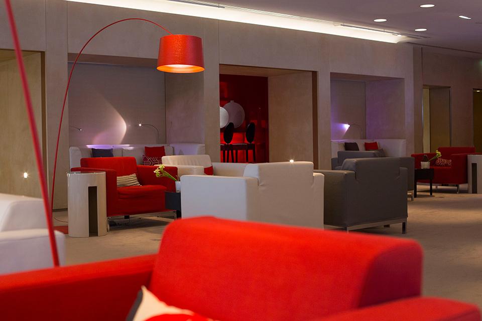 سالن انتظار ایرفرانس از لوکس ترین سالنهای انتظار فرودگاههای جهان