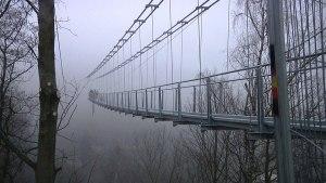 طولانی ترین پل معلق دنیا در آلمان