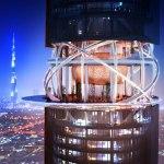 اولین برج چرخشی دنیا در دبی