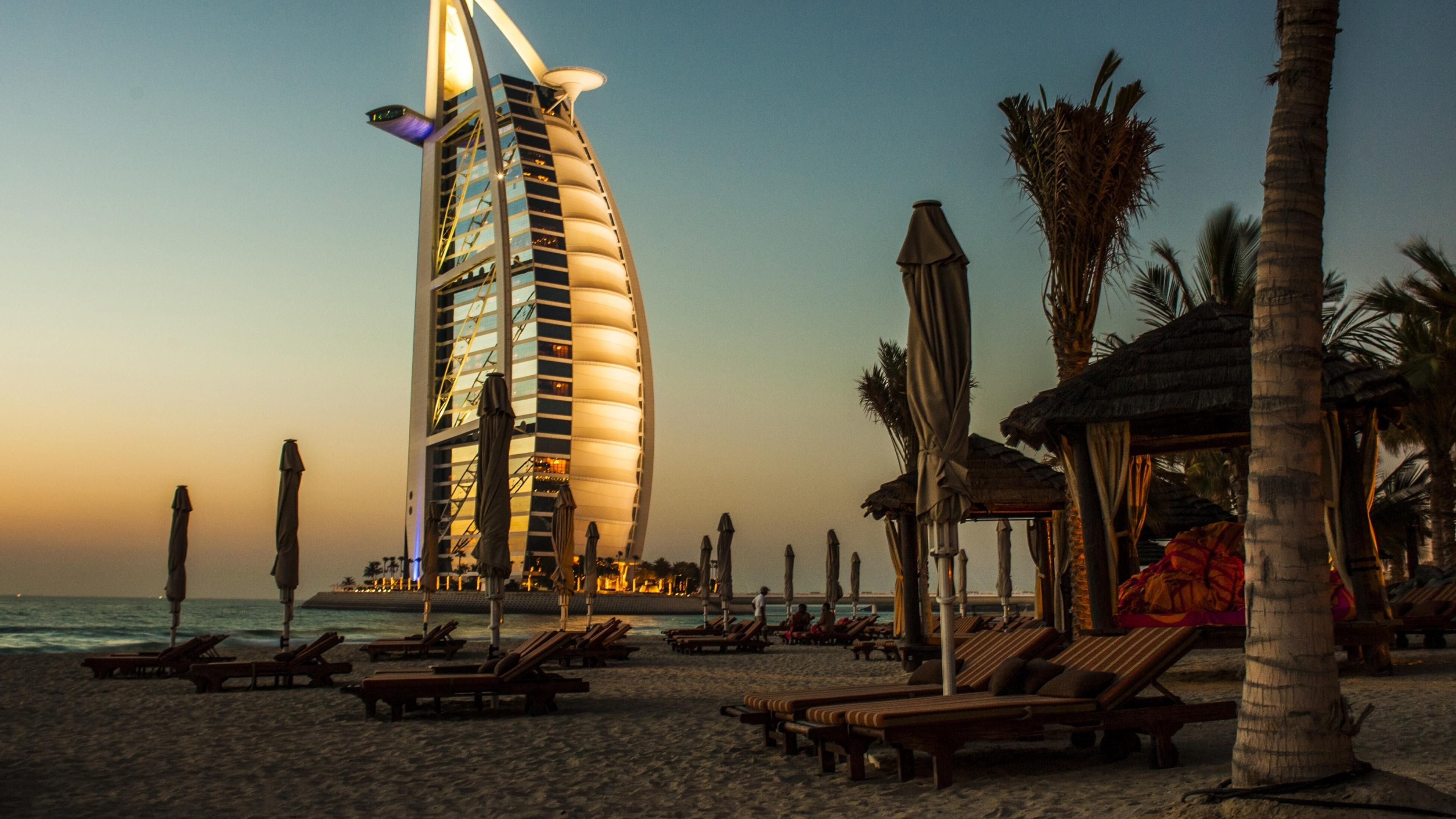 زیباترین سواحل دبی
