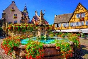 اگوییسهایم فرانسه؛ دهکده سحرآمیز جهان