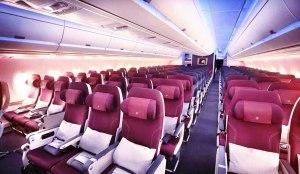 تمیزترین کابین های هواپیما در سال 2017