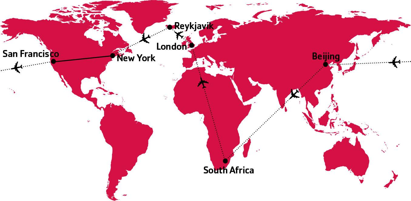 10 مسیر پروازی که هرگز وجود ندارند