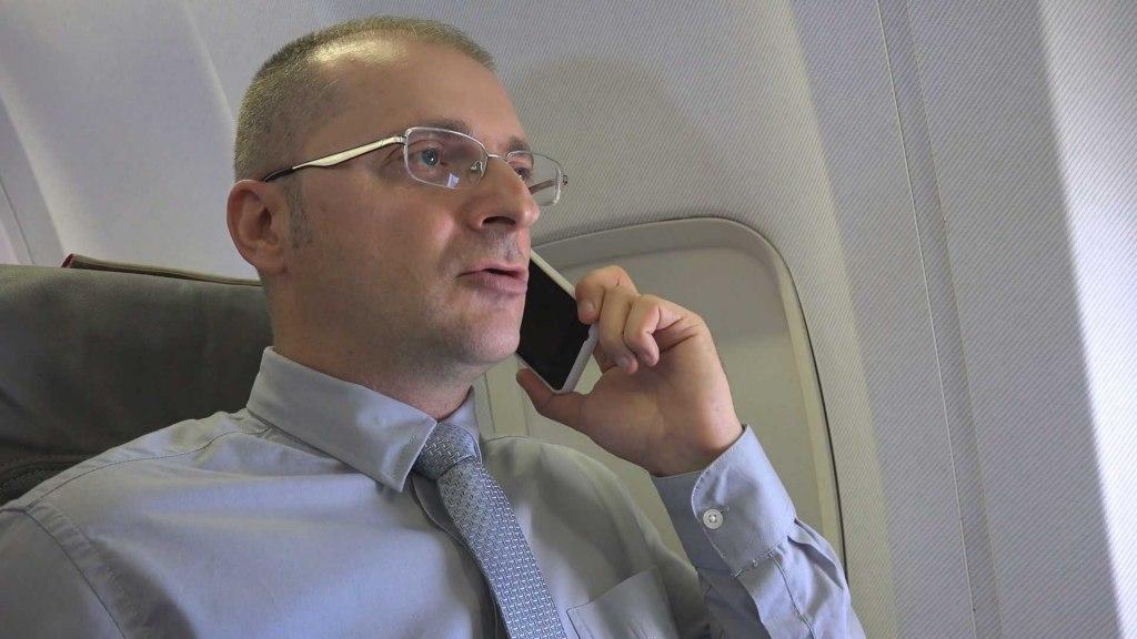 تلفن در هواپیما