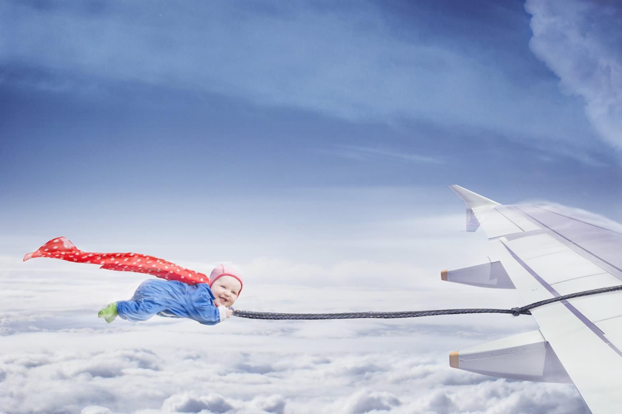 آیا می دانید نوزادی که در هنگام پرواز متولد می شود چه ملیتی دارد؟