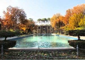 کاخ تاریخی هشت بهشت اصفهان