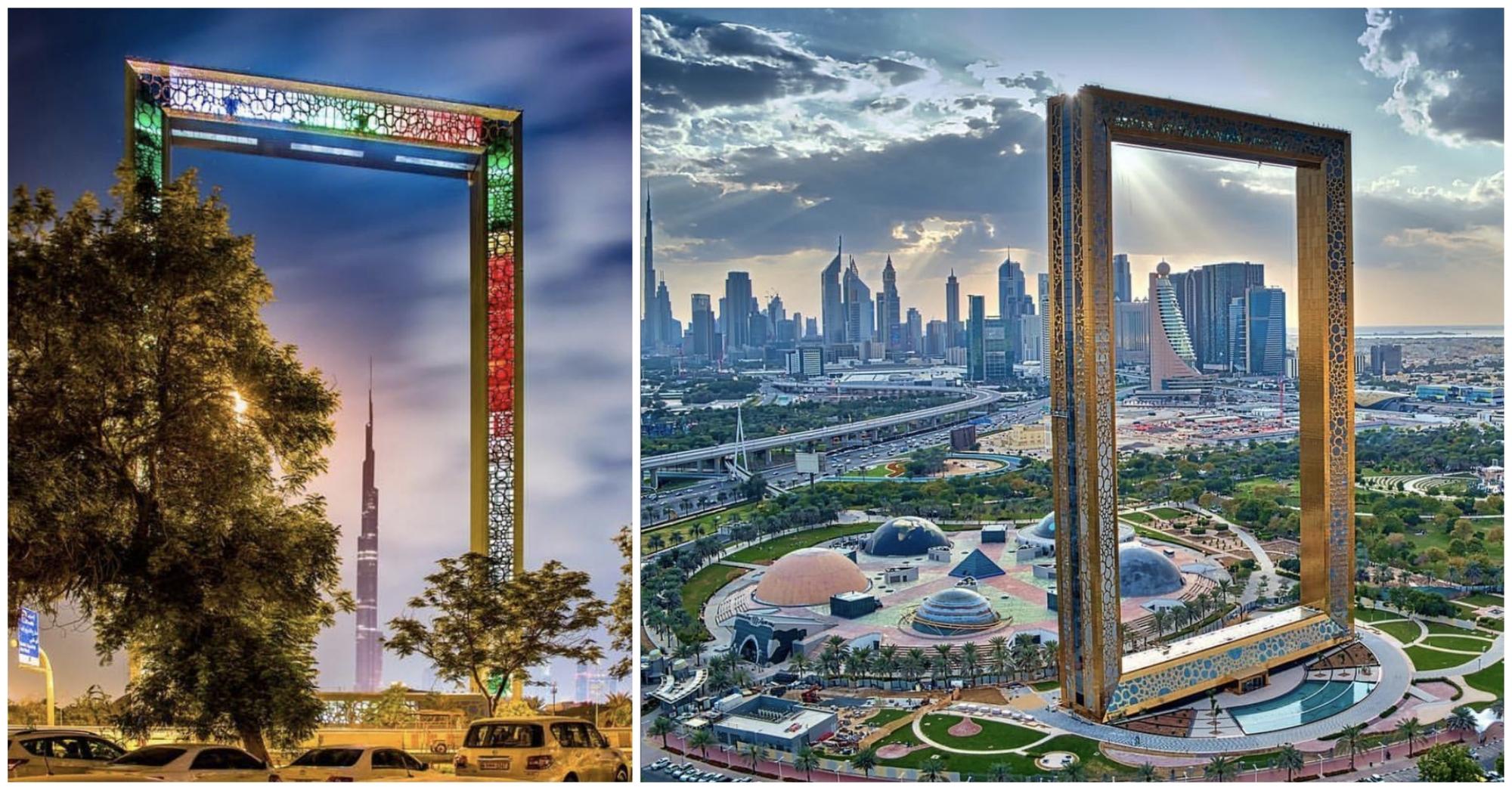 قاب دبی جدیدترین جاذبه گردشگری 2018