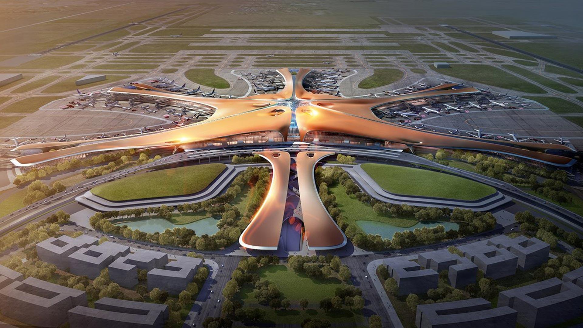 بزرگترین ترمینال فرودگاه در دنیا