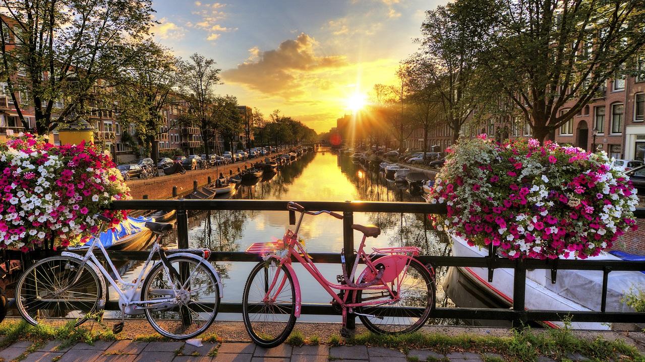 پل عشق آمستردام