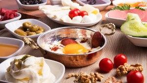 صبحانه های ترکی