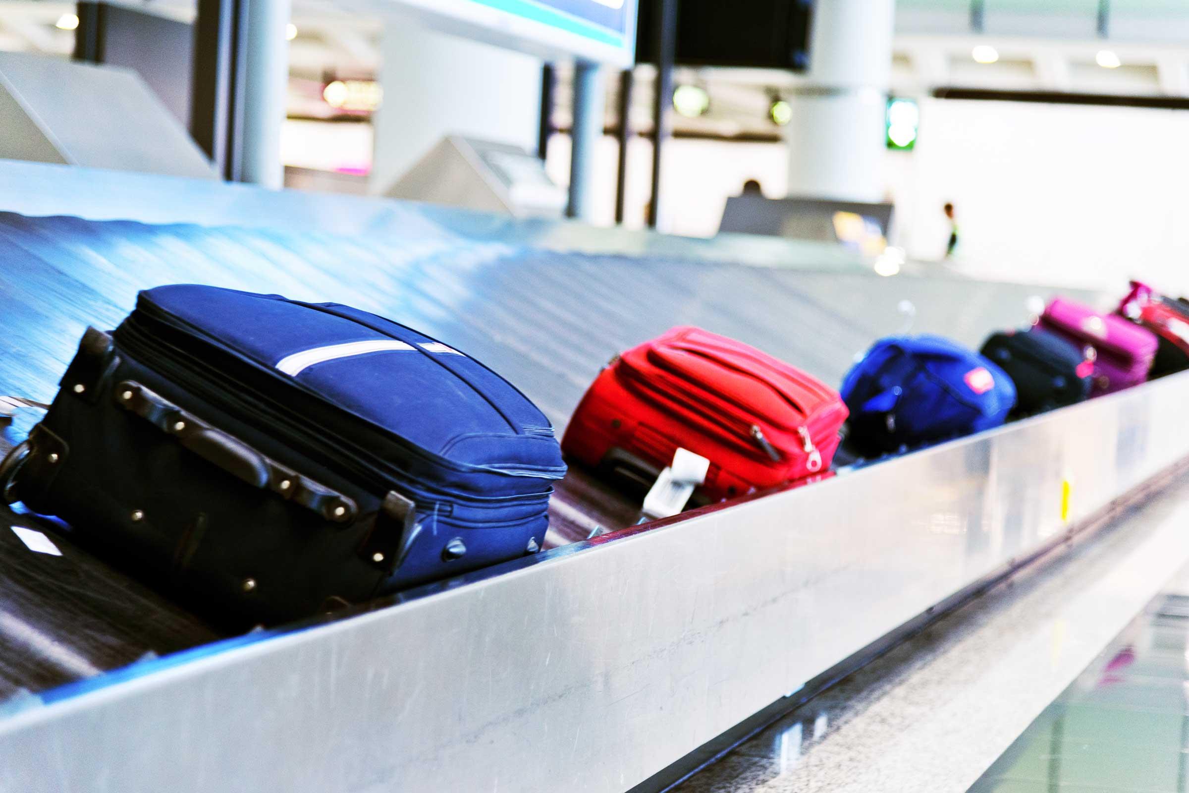گم شدن چمدان