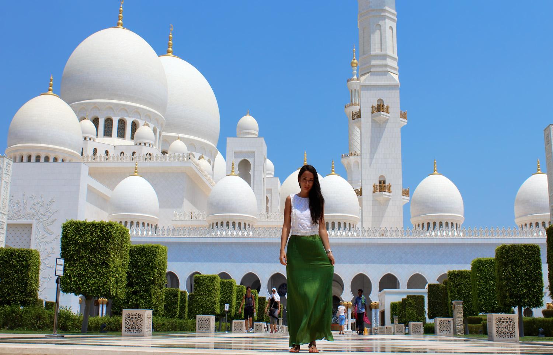 راهنمای بازدید از مسجد شیخ زاید؛ ابوظبی