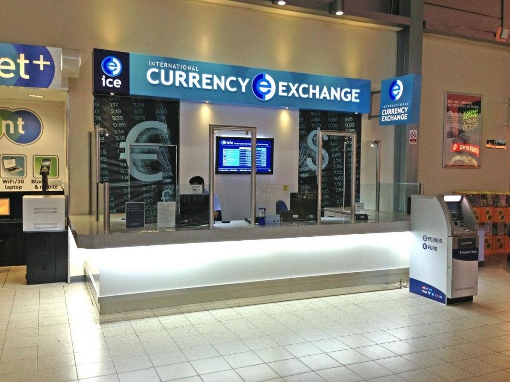 تبادل ارز در فرودگاه