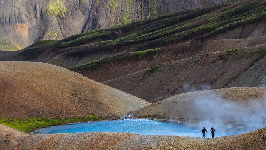 دره ی لندمانالوگار در ایسلند